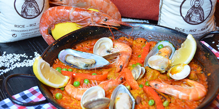 Paella from Albaluz located on Tianping Lu, Xuhui, Shanghai