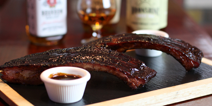 Ribs from The Blind Pig Bourbon & Smokehouse located in Hongqiao, Shanghai