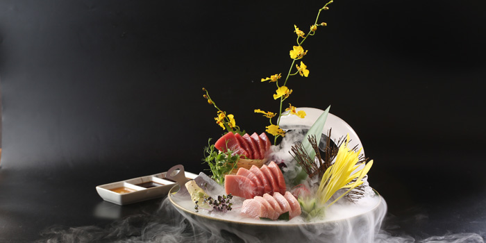 Food of Takumi Robatayaki & Sake Bar (IFC) located on Century Avenue, Pudong, Shanghai