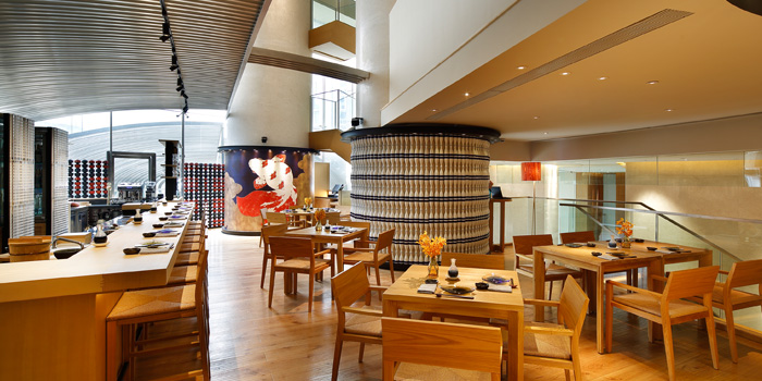 Indoor of 88 sushi located on Songshan Lu, Huangpu, Shanghai