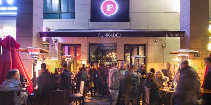 Entrance of Funkadeli located in Xuhui, Shanghai