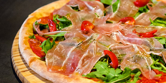Parma Ham Pizza from The Parrot located on Xuhui, Shanghai