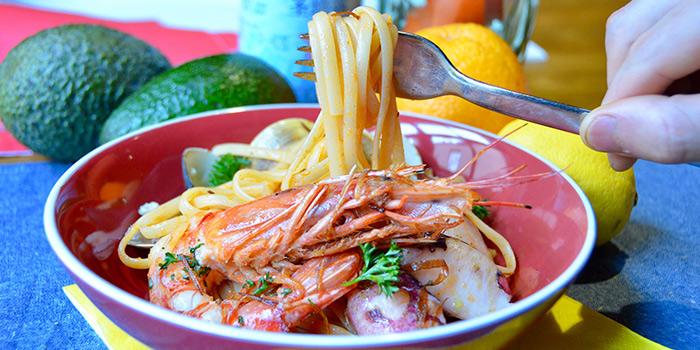 Pasta from Albaluz located on Tianping Lu, Xuhui, Shanghai