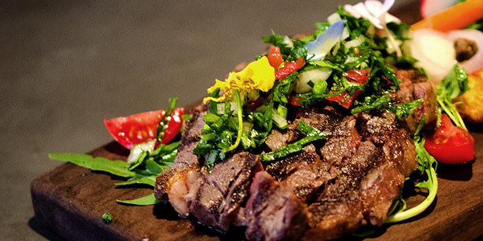 Steak from The Parrot located on Xuhui, Shanghai