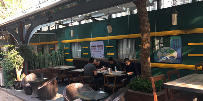 Outdoor from The Blind Pig Bourbon & Smokehouse located in Hongqiao, Shanghai