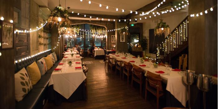 Interior of Mingo Bar & Restaurant located in Xuhui, Shanghai