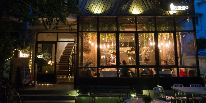 Exterior of Mingo Bar & Restaurant located in Xuhui, Shanghai
