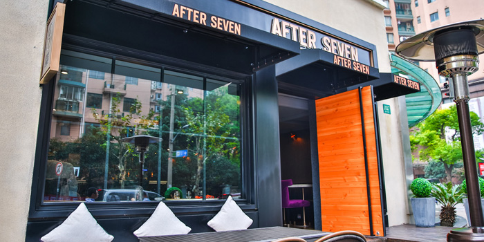 Outdoor of After 7 located on Liyuan Lu, Huangpu, Shanghai