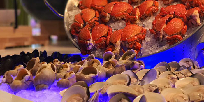 Clams and Crabs from C Market located in Minhang, Shanghai