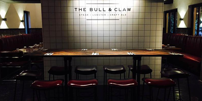 Entrance of The Bull and Claw located in Xuhui, Shanghai