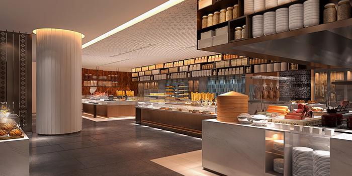 Interior of C Market located in Minhang, Shanghai
