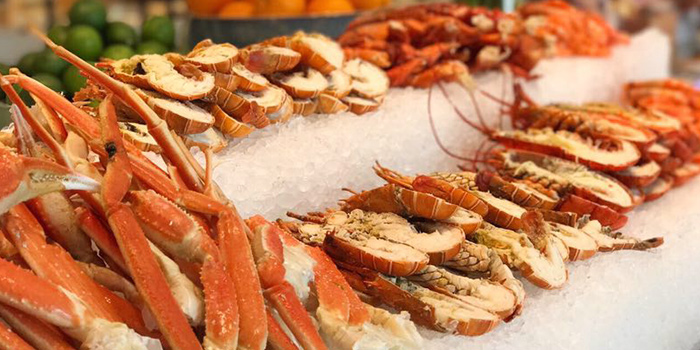 Seafood from C Market located in Minhang, Shanghai