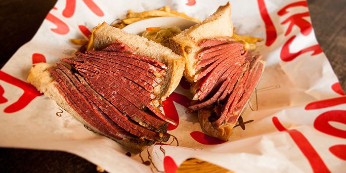 Smoked Beef Sandwich from Tocks A Montreal Deli located in Huangpu, Shanghai