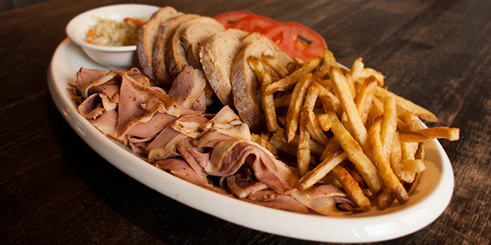 Smoked Duck Platter from Tocks A Montreal Deli located in Huangpu, Shanghai