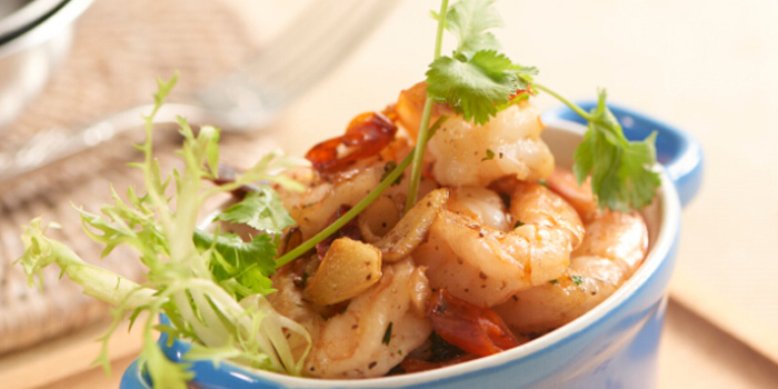 Food of OLÁ Bar & Restaurant located on Wuding Lu, Jing