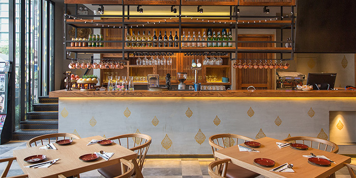 Bar of Andaman Thai located on Shenchang Lu, Minhang, Shanghai