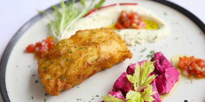 Food of Greek Taverna Milos located on Yueyang Lu, Xuhui District, Shanghai