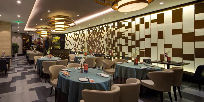 Dining Area of JUMBO Seafood (Beijing SKP) located in Chaoyang, Beijing