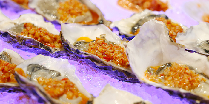 Oysters from C Market located in Minhang, Shanghai