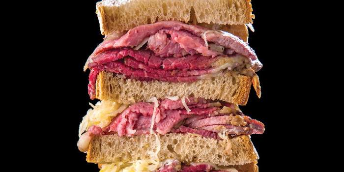 Reuben from Tocks A Montreal Deli located in Huangpu, Shanghai