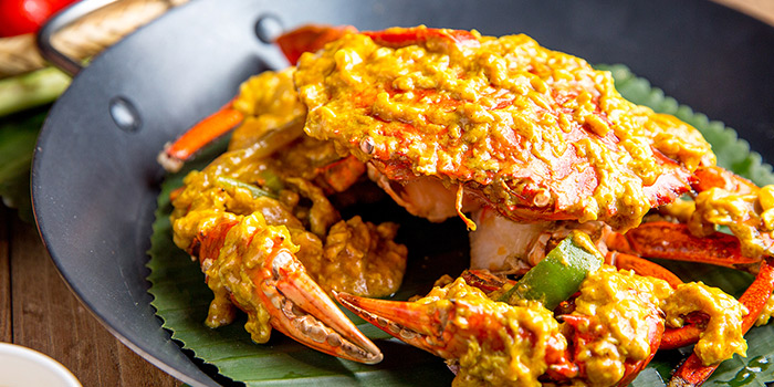Food of Andaman Thai located on Shenchang Lu, Minhang, Shanghai