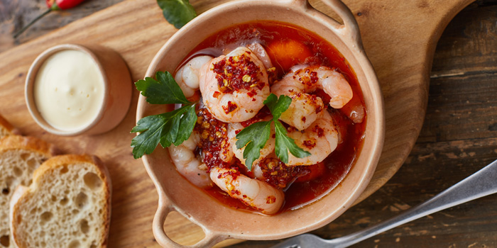 Food of Gana Spanish Restaurant & Bar located on Weifang Xi Lu, Pudong, Shanghai