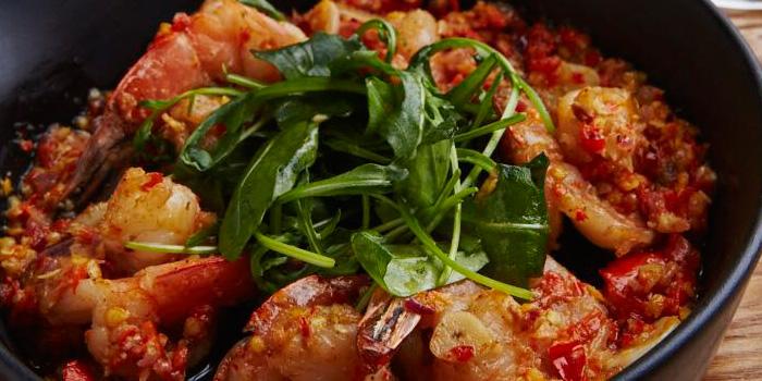 Food of Viva! Urban Cuisine & Bar located on Weihai Lu, Jing