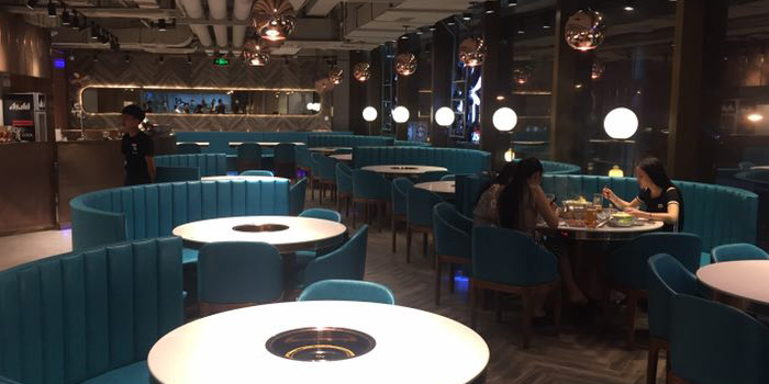 Indoor of Holy Cow (Star Live Plaza) located on Hongqiao Lu, Changning, Shanghai