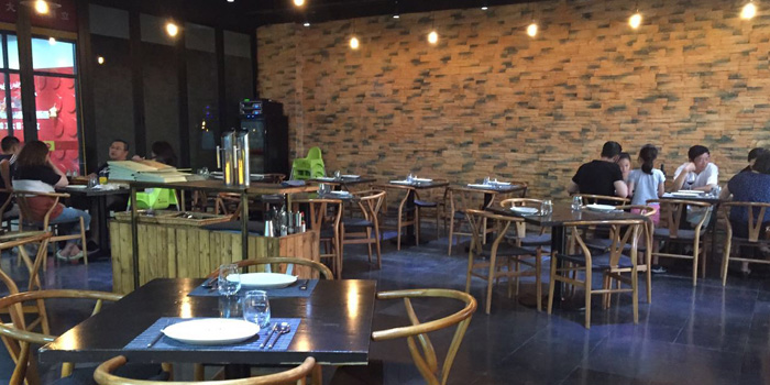 Indoor of The Terrace (Minhang) located on Chundong Lu, Minhang, Shanghai