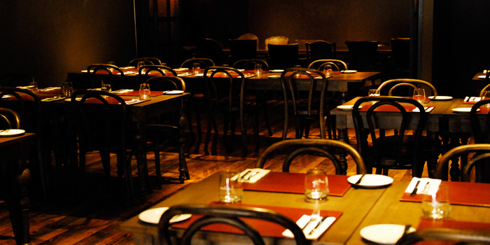 Indoor of The Gili Steakhouse located on Dagu Lu, Jing