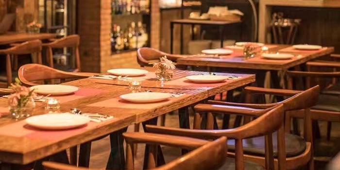 Indoor of Gana Spanish Restaurant & Bar located on Weifang Xi Lu, Pudong, Shanghai
