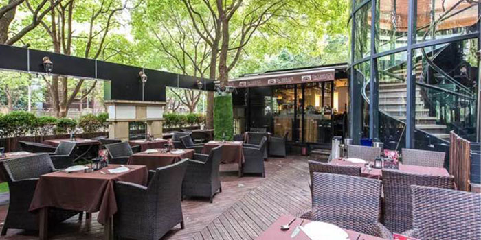 Outdoor of The Terrace (Gubei) located on Huangjing Chengdao, Changning, Shanghai