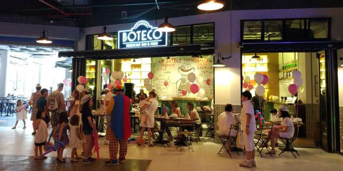 Outdoor of Boteco Brazilian Bar and Food located on Julu Lu, Jing