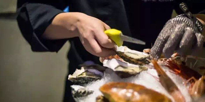 Food of Oyster Kitchen located on Yongjia Lu, Xuhui, Shanghai