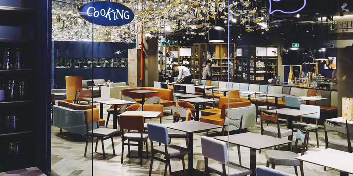 Indoor of JR Recipe (Dingxiang Lu) located on Dingxiang Lu, Pudong, Shanghai