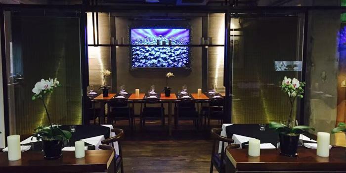 Indoor of La Casetta located on Taixing Lu, Jing