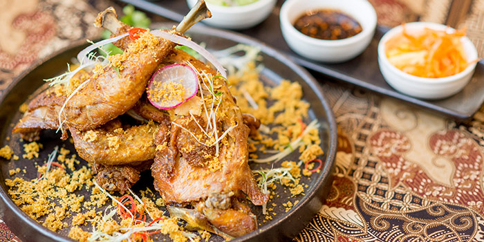 Ayam Penyat from Bali Bistro & Balini Coffee located in Jing