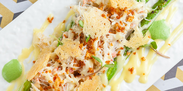 Crab Caesar Salad from Host Wine & Kitchen located in Jing