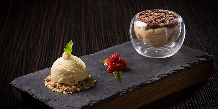 Dessert from Dozo Modern Dining Bar located in Jing