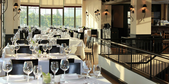 Dining Area of Kafer by The Binjiang One located in Pudong, Shanghai