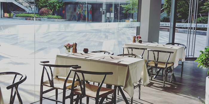 Dining Table of Reve Kitchen located in Minhang, Shanghai
