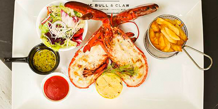 Lobster from The Bull and Claw located in Xuhui, Shanghai