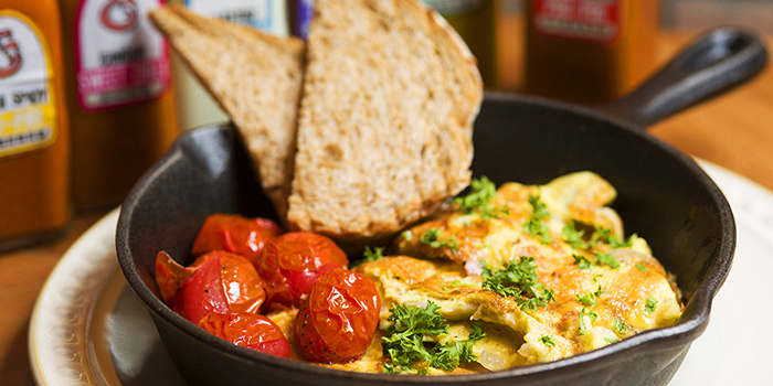 Omelette from Chicken and Egg located on Xuhui, Shanghai