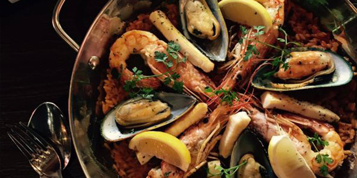 Paella from La Villa Rouge located in Xuhui, Shanghai