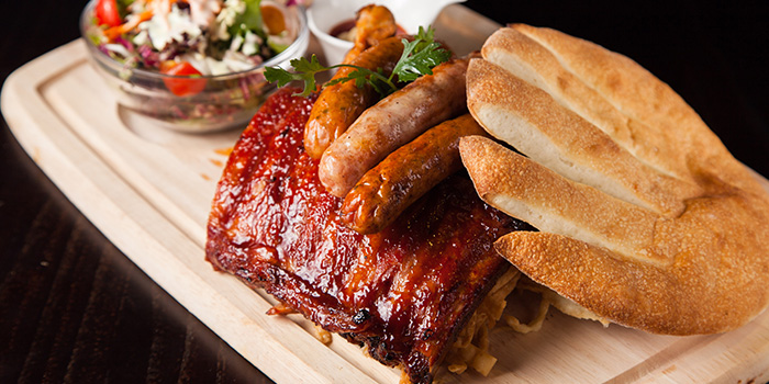Ribs and Sausages from Fiorino (Xintiandi) located in Huangpu, Shanghai