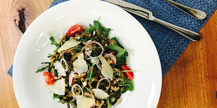 Salad from La Villa Rouge located in Xuhui, Shanghai