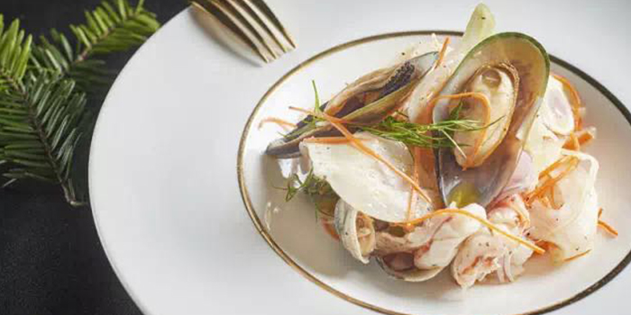 Seafood Salad from Yun Italia located in Jing