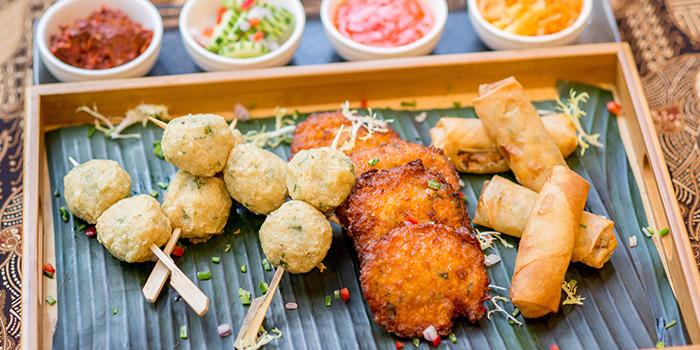 Snacks from Bali Bistro & Balini Coffee located in Jing
