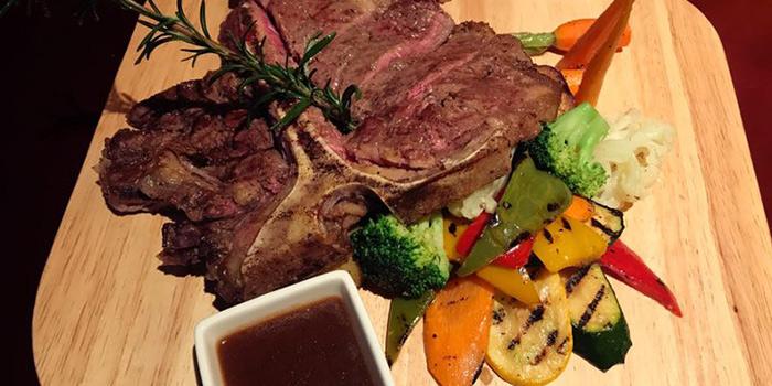 Steak from Cape Grape (Hongmei Lu) located on Hongmei Lu, Minghang, Shanghai