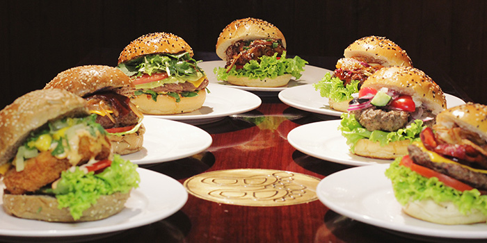 Burger from Big Bamboo (Jinqiao) located in Pudong, Shanghai